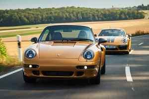 Project Gold Porsche 911