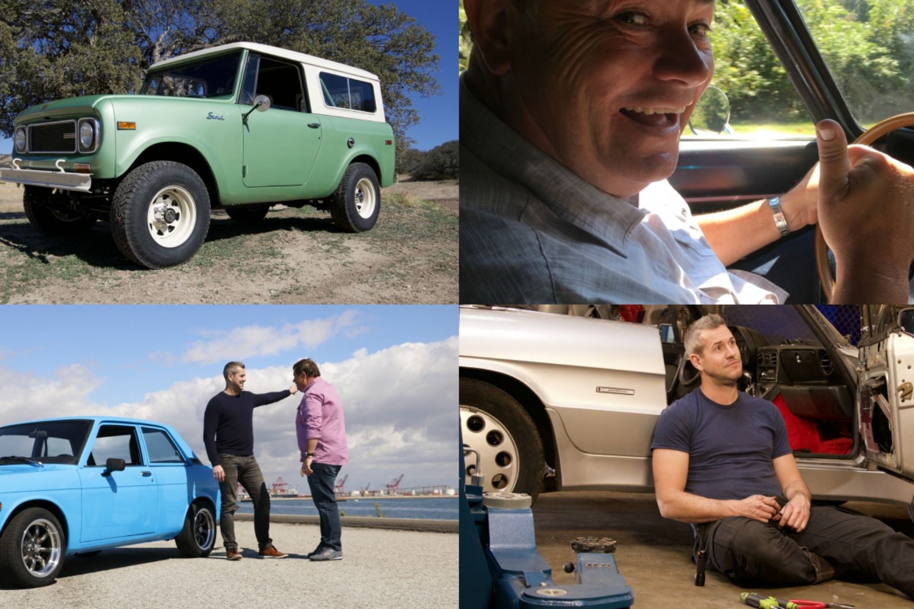 Wheeler Dealers All The Project Cars From The Season - New car show on discovery channel