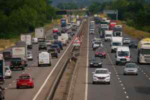 Traffic UK motorway
