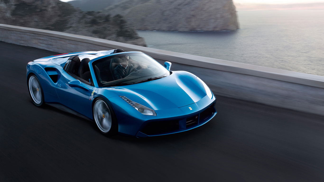 Ferrari Is Most Popular Hire Car For Wealthy London Tourists