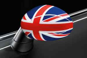 MINI Union Jack door mirror