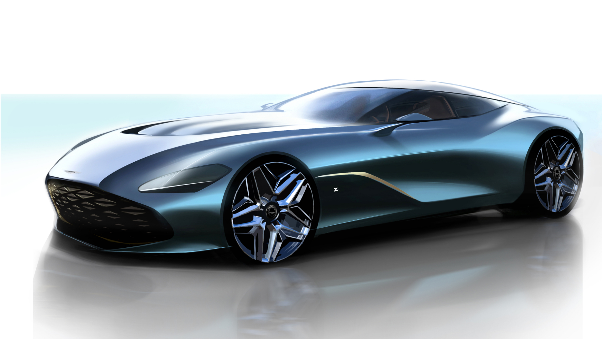 z cars the 58 year history of aston martin and zagato motoring research. Black Bedroom Furniture Sets. Home Design Ideas