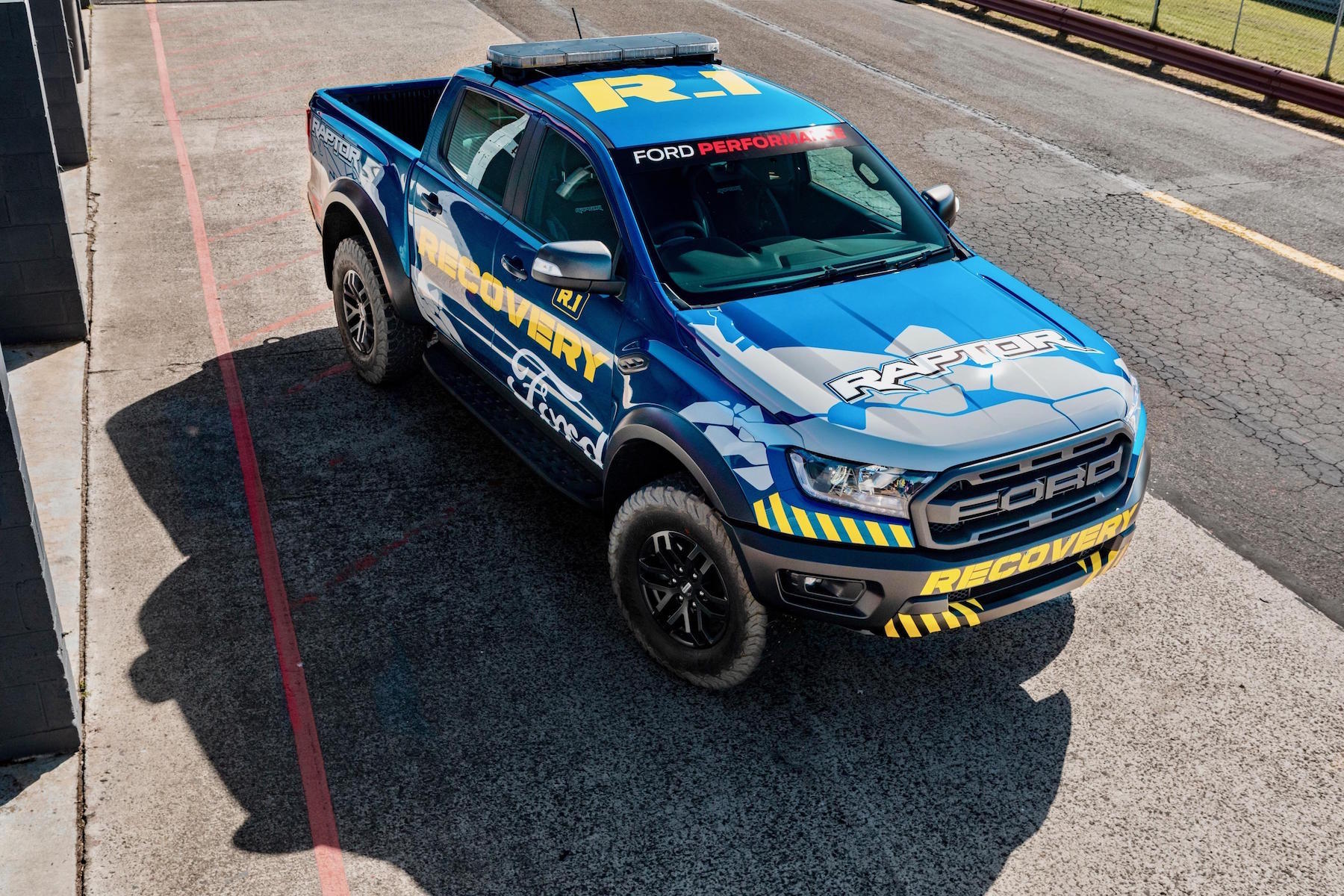 New ford ranger raptor gets ready for work down under