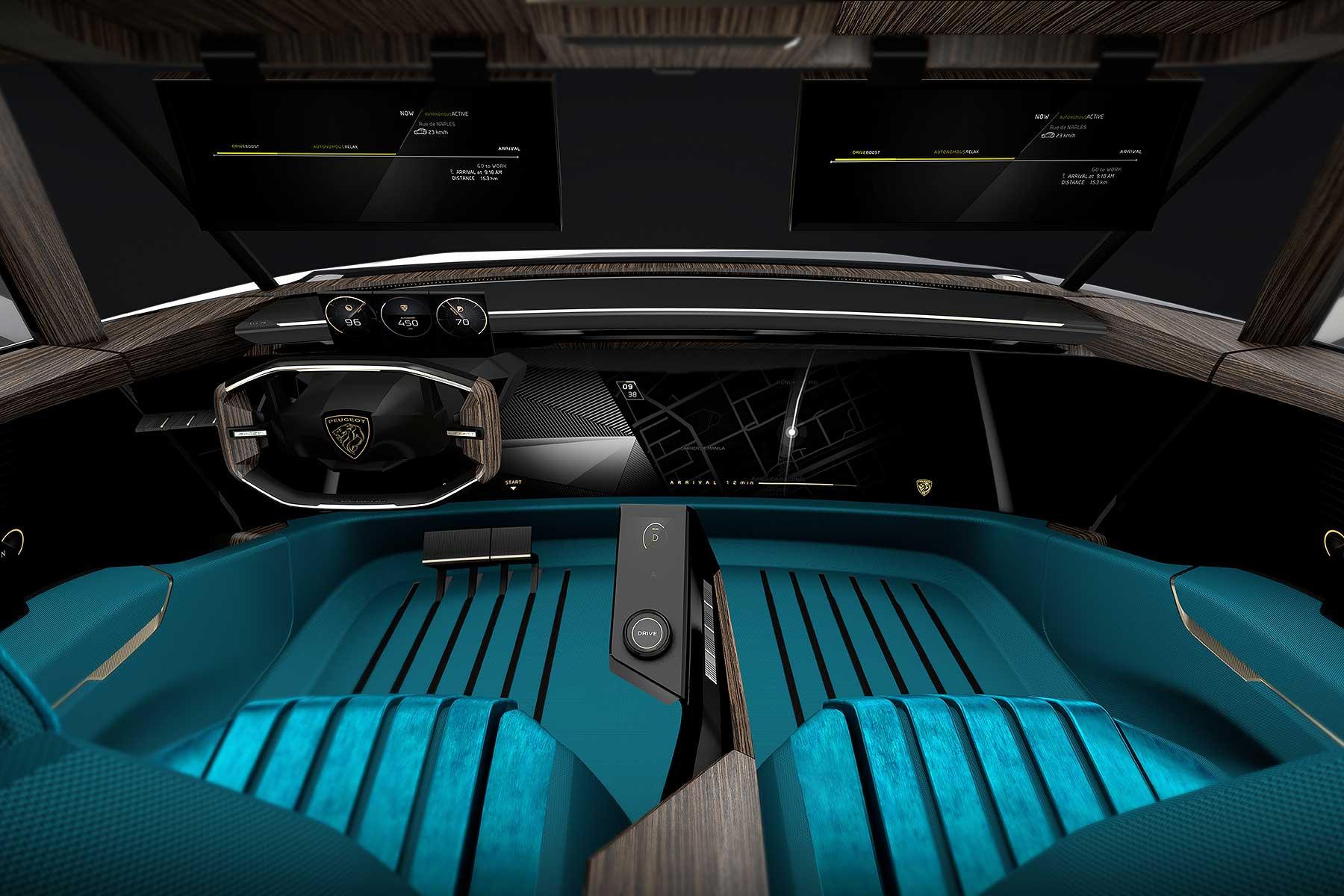 Peugeot E Legend Concept Motoring Research
