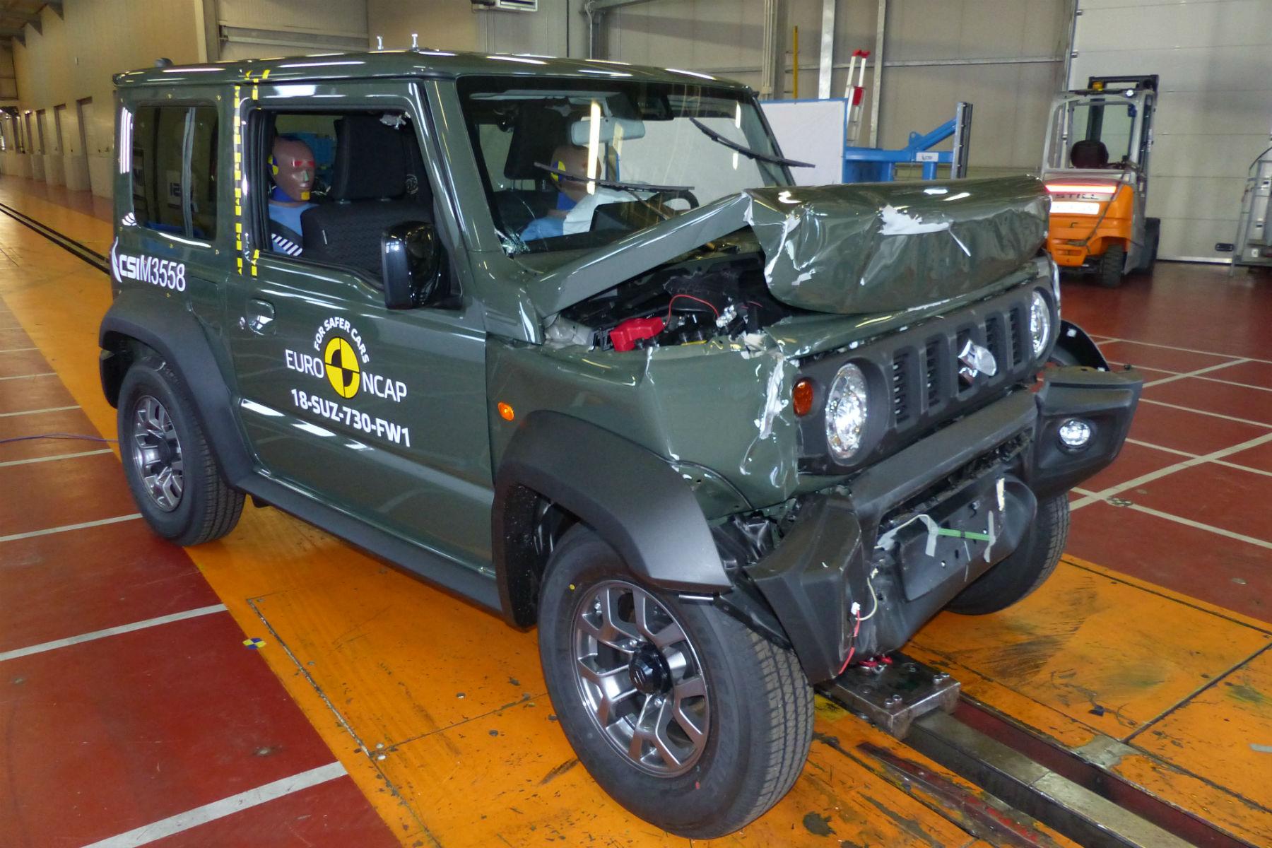 Suzuki Jimny Euro NCAP test