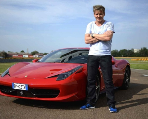 Gordon Ramsay and Ferrari