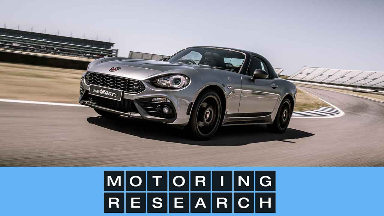 motoring research reviews the abarth 124 gt at rockingham motoring research. Black Bedroom Furniture Sets. Home Design Ideas