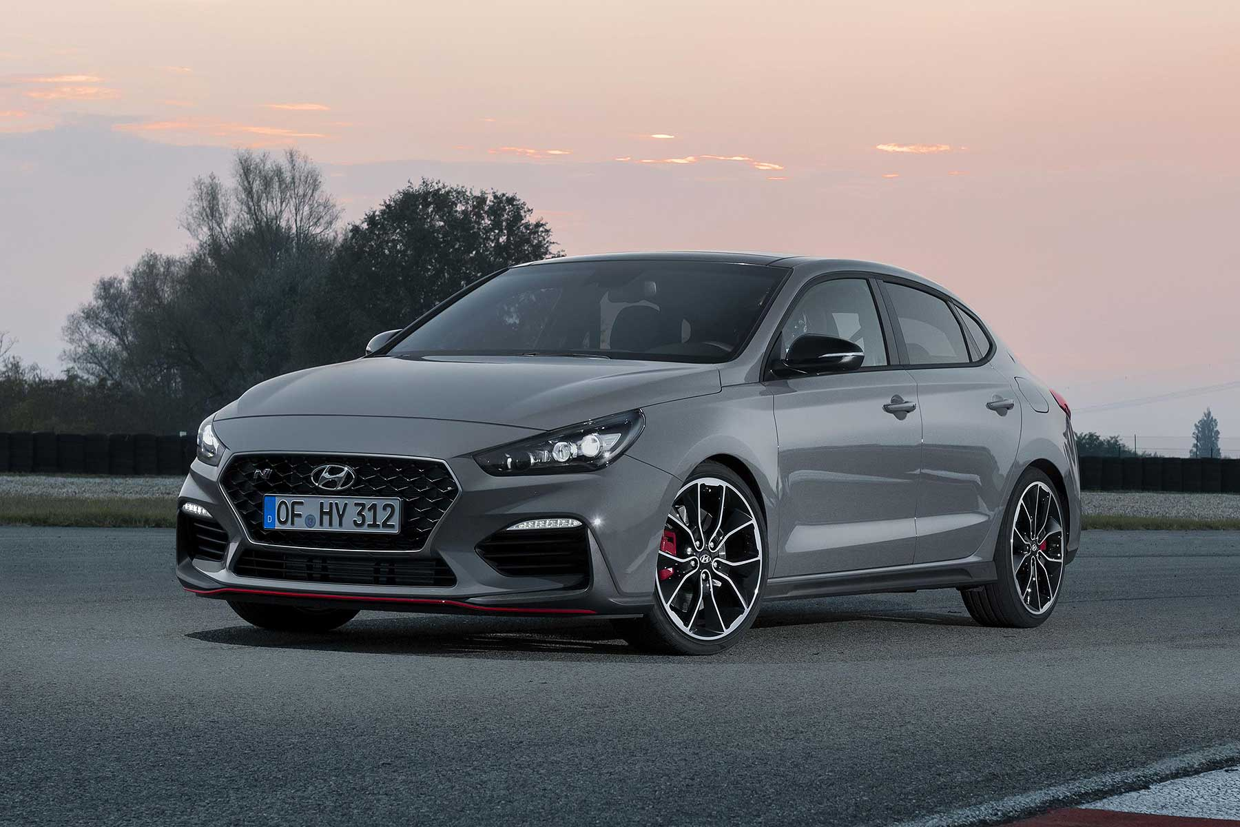 hyundai i30 fastback n revealed ahead of paris debut. Black Bedroom Furniture Sets. Home Design Ideas