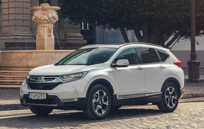 2019 Honda Cr V Hybrid The Petrol Suv That Mimics A Sel Motoring Research