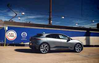 Jaguar I-Pace London to Brussels