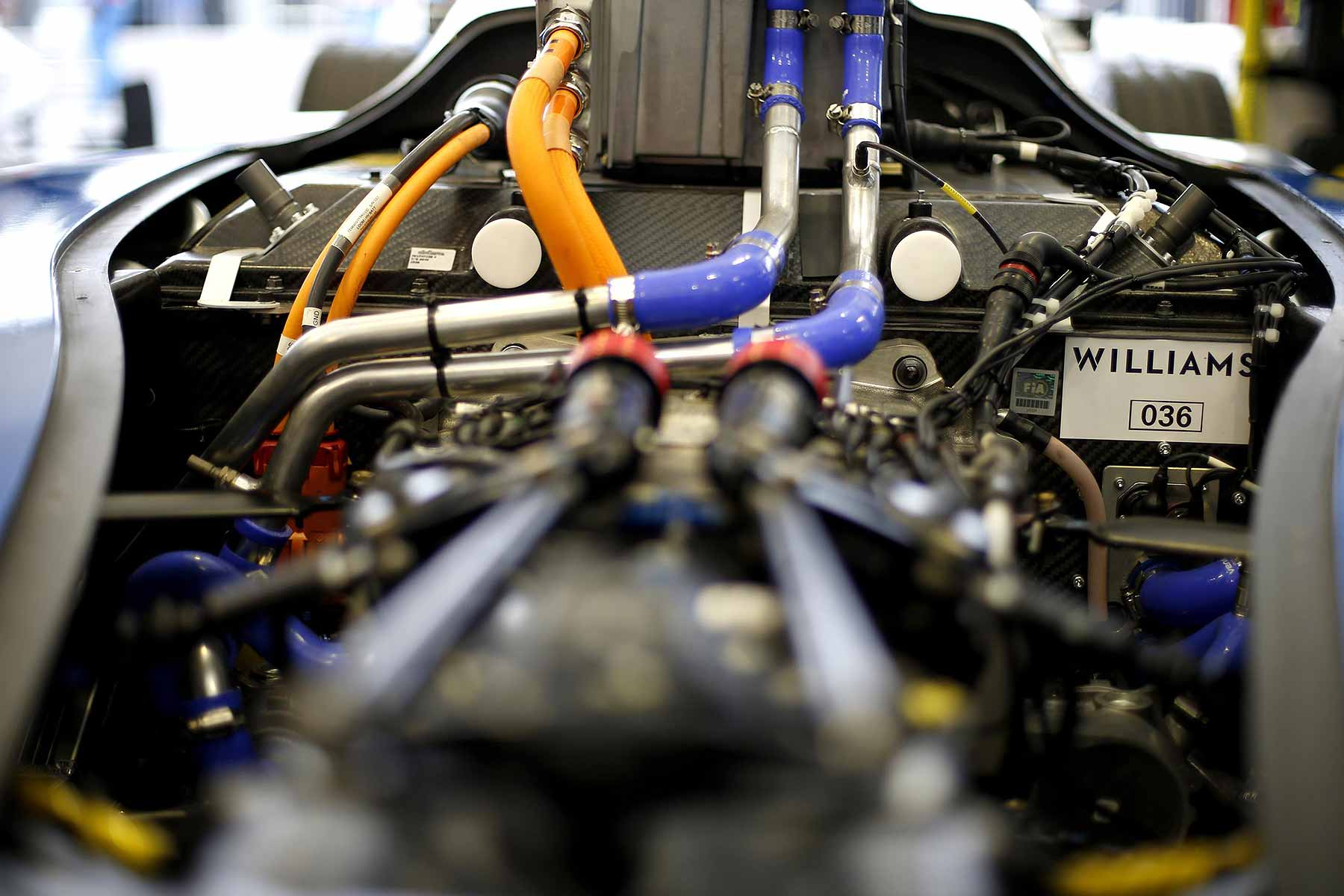 Williams Advanced Engineering Formula E battery