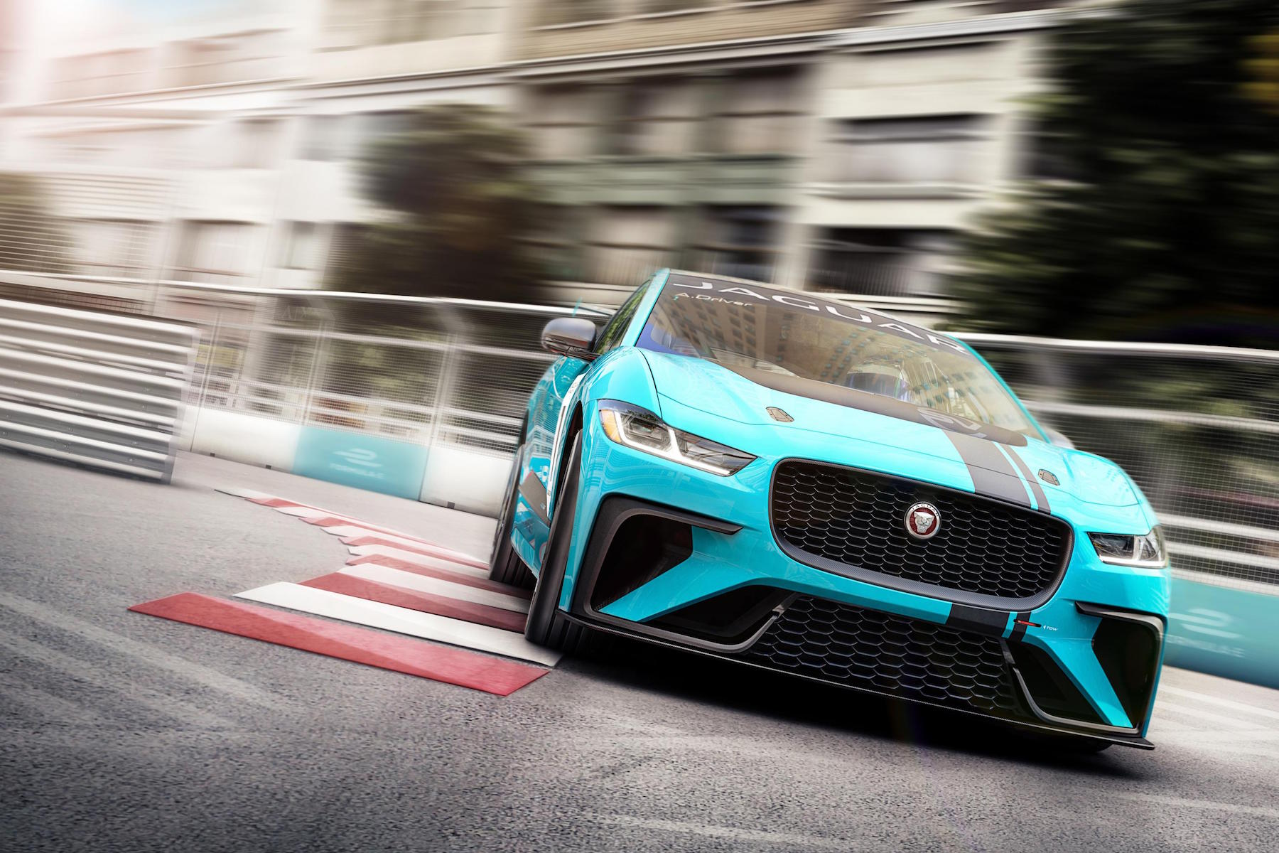 Jaguar I-Pace eTrophy Calendar announced