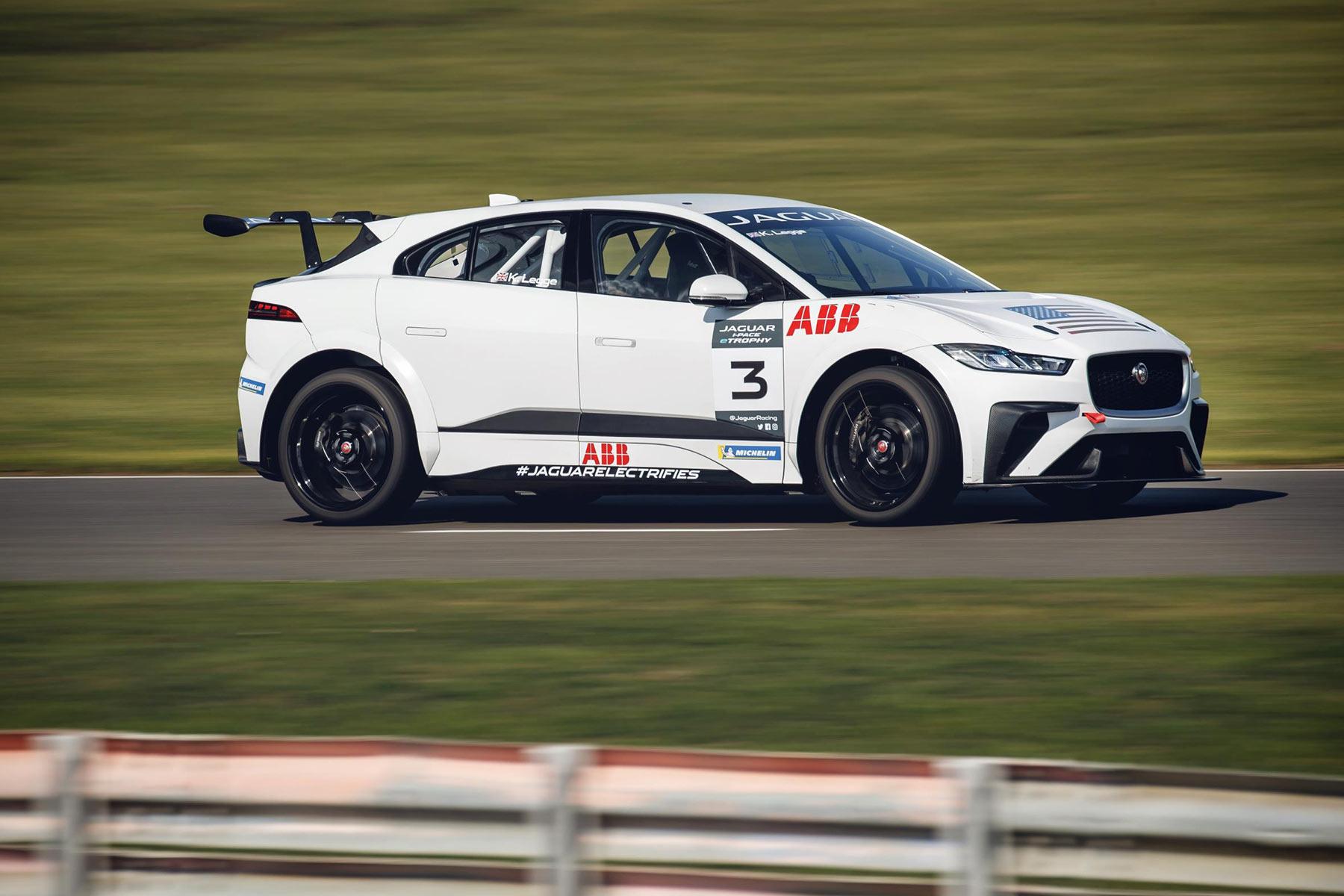 Jaguar I-Pace eTrophy Test Session