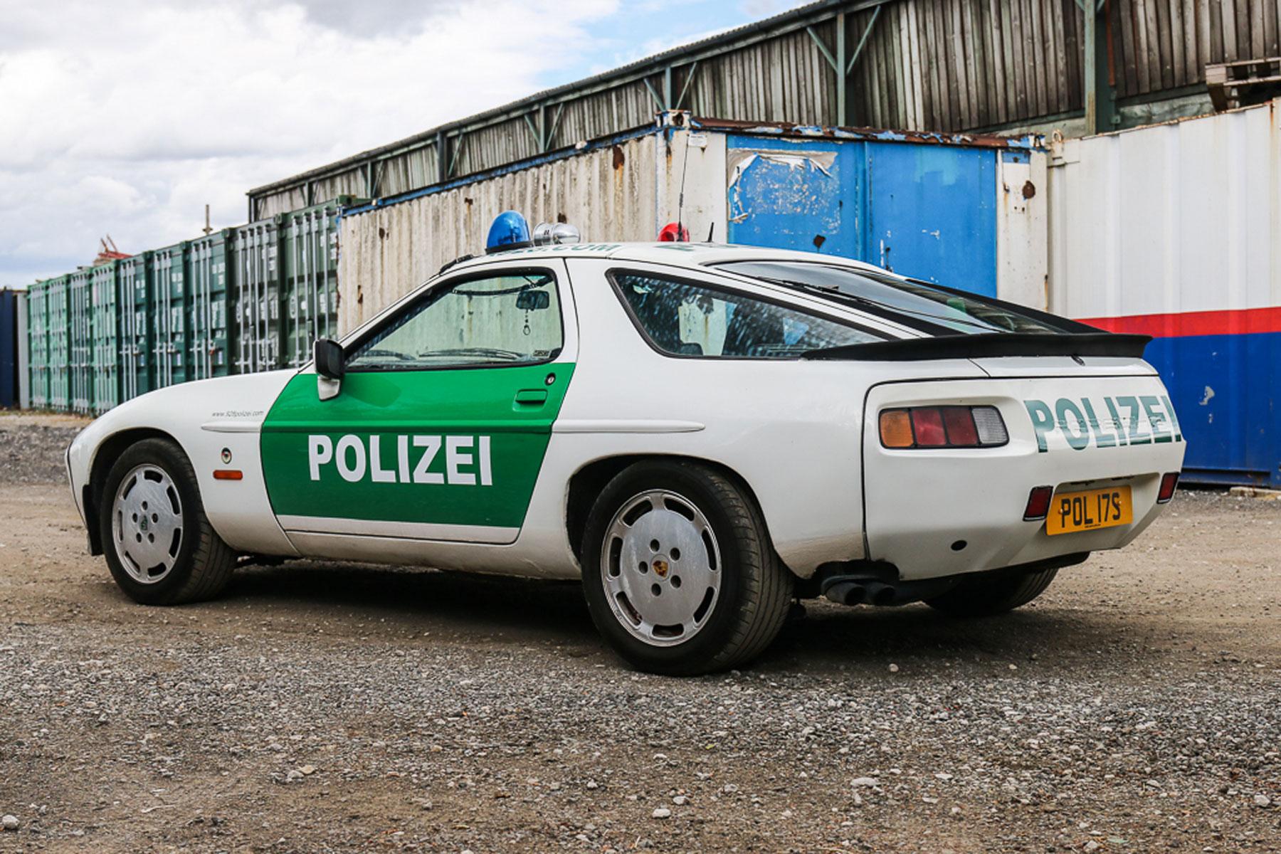 Porsche 928 S2 Polizei