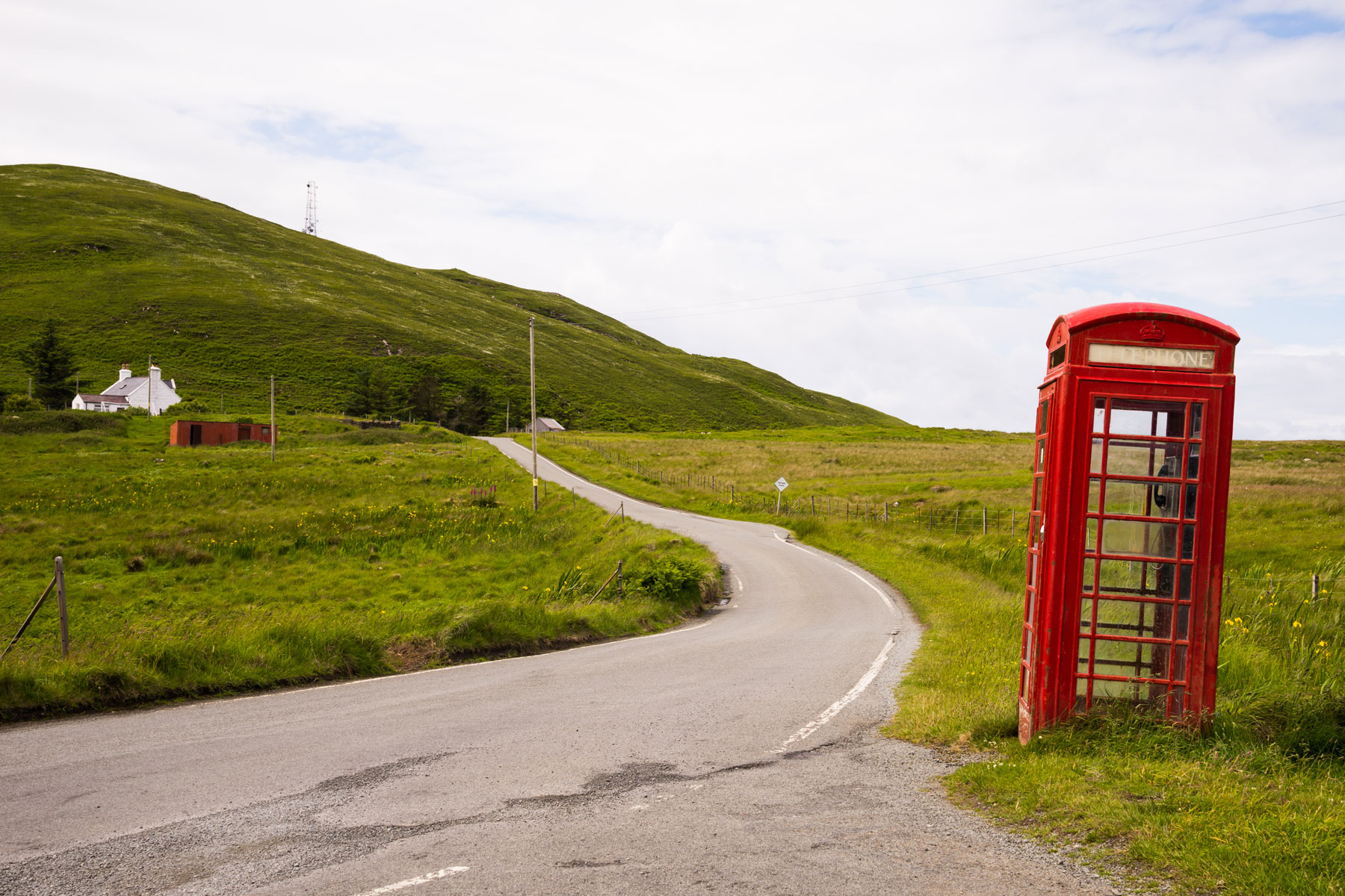 Remote telephone box