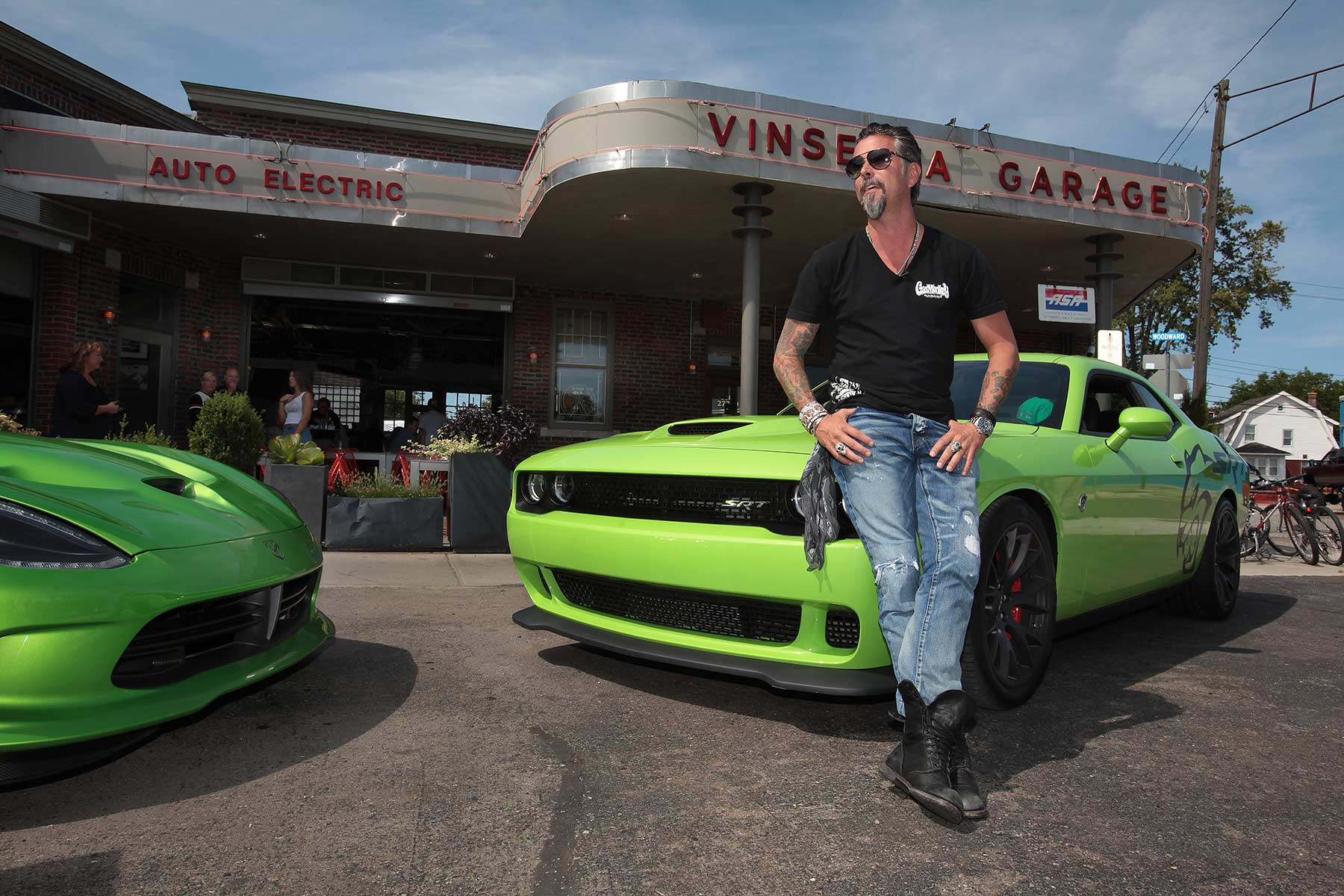 Richard Rawlings Dodge Challenger Hellcat Stolen