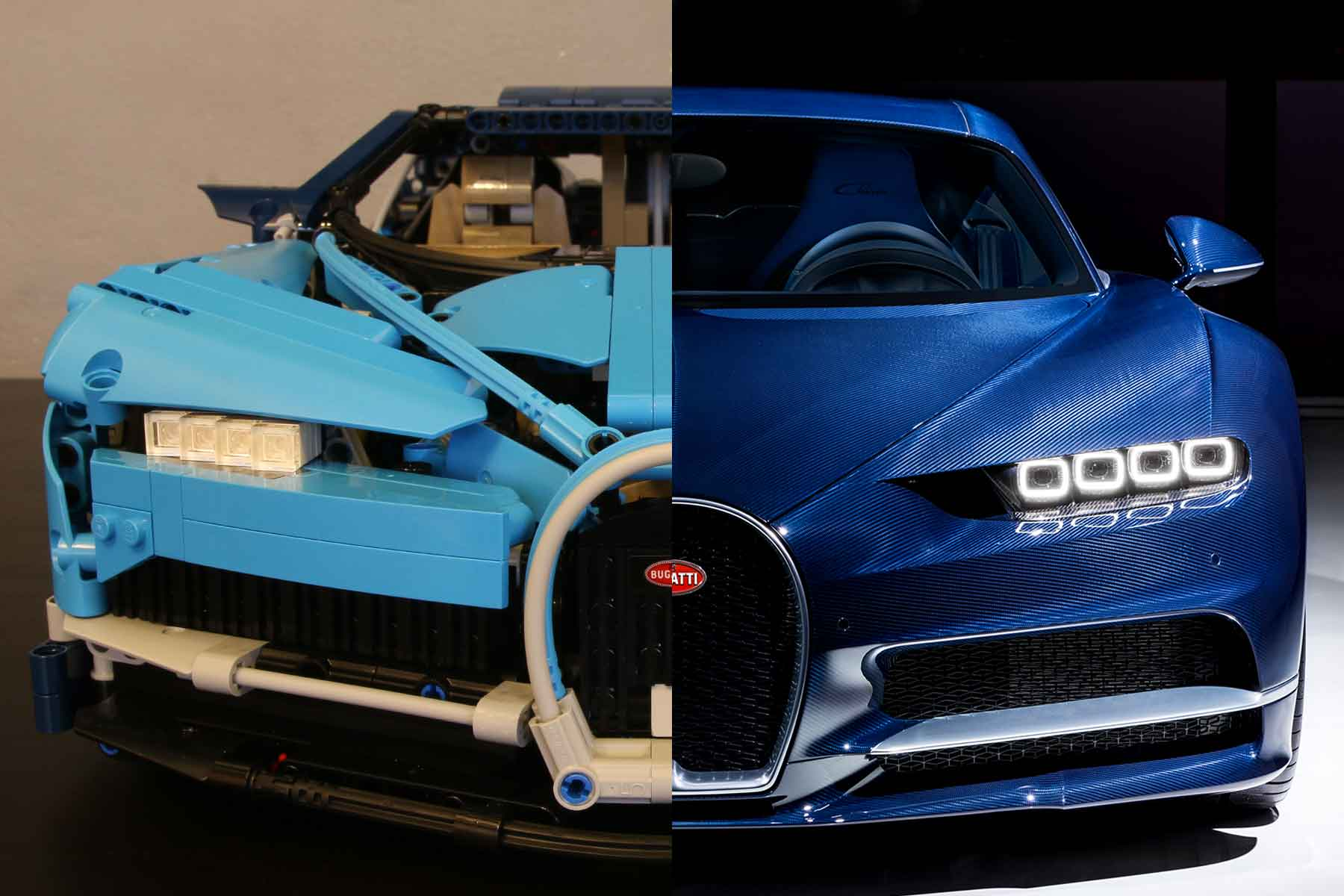 video lego bugatti chiron we build the 330 hypercar. Black Bedroom Furniture Sets. Home Design Ideas