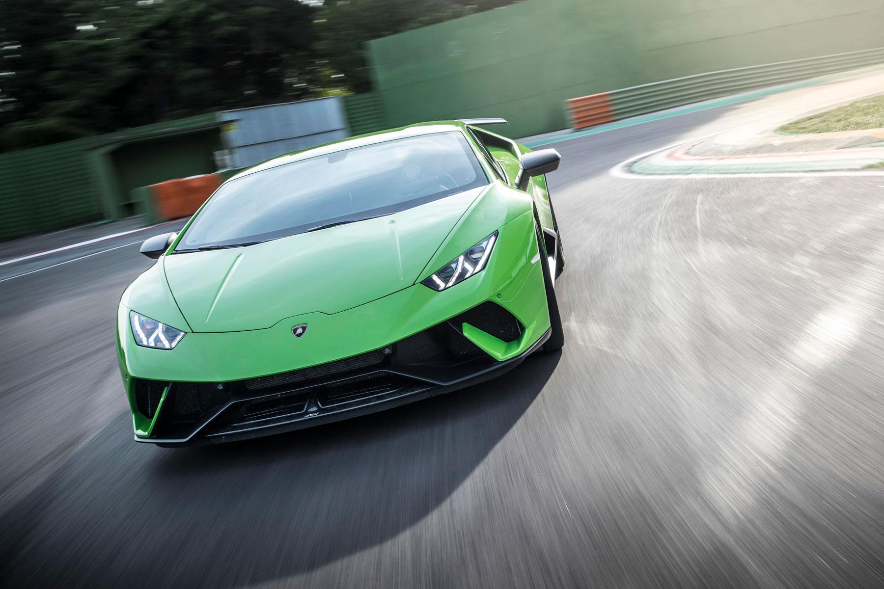 Lamborghini Huracan Performante – 2.9 seconds