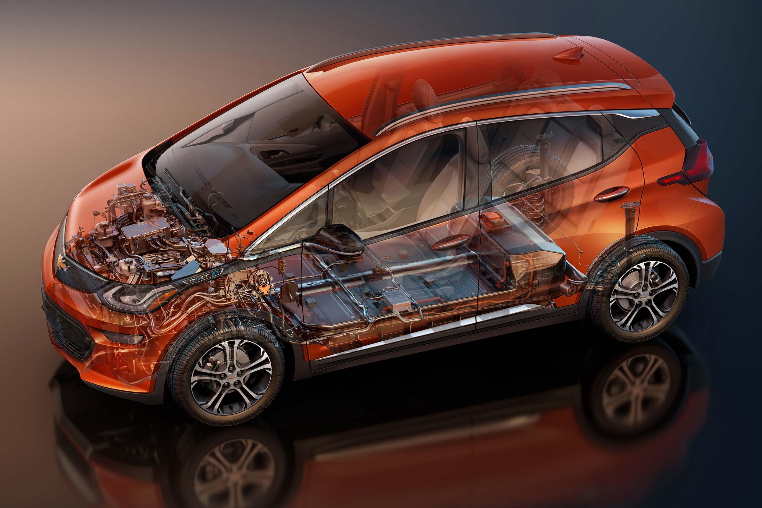 2017 Chevrolet Volt battery system