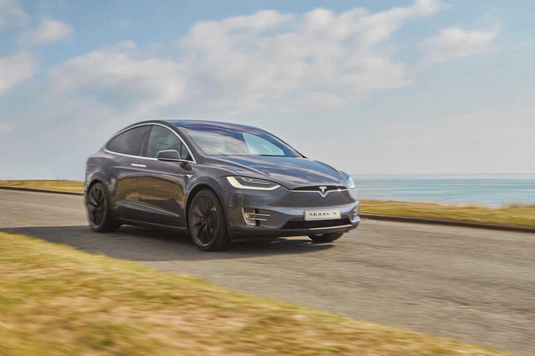 Tesla Model X – 2.9 seconds (0-60mph)
