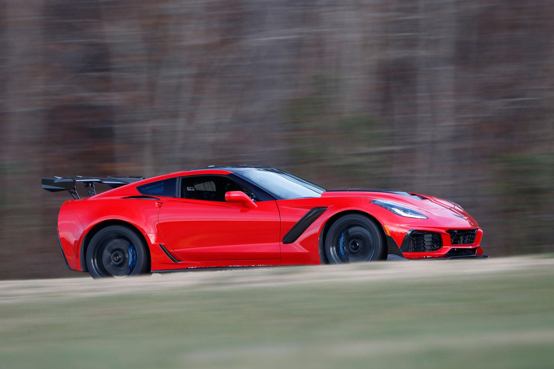Chevrolet Corvette ZR1 – 2.85 seconds (0-60mph)