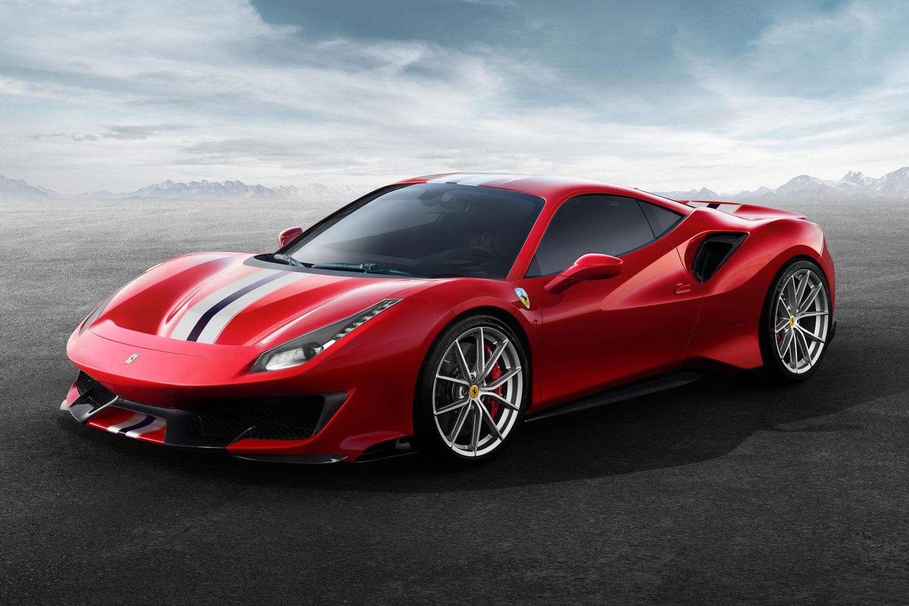 Ferrari 488 Pista/Spider – 2.85 seconds