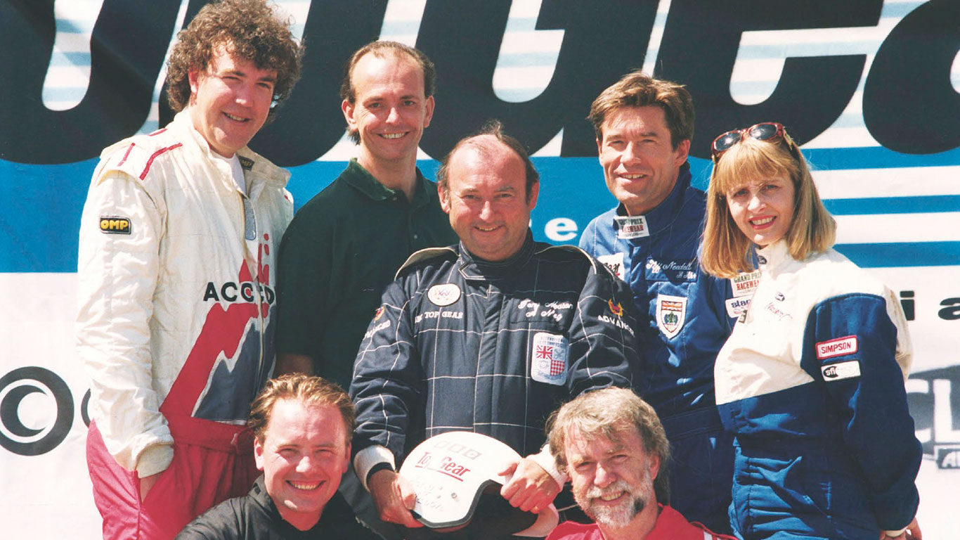 Top Gear presenter Tony Mason