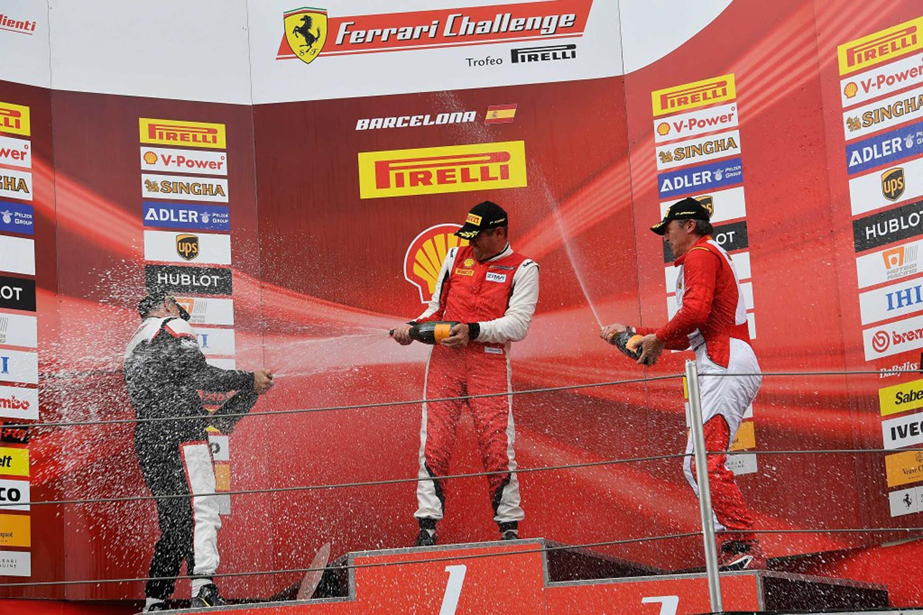 Ferrari Challenge UK race series
