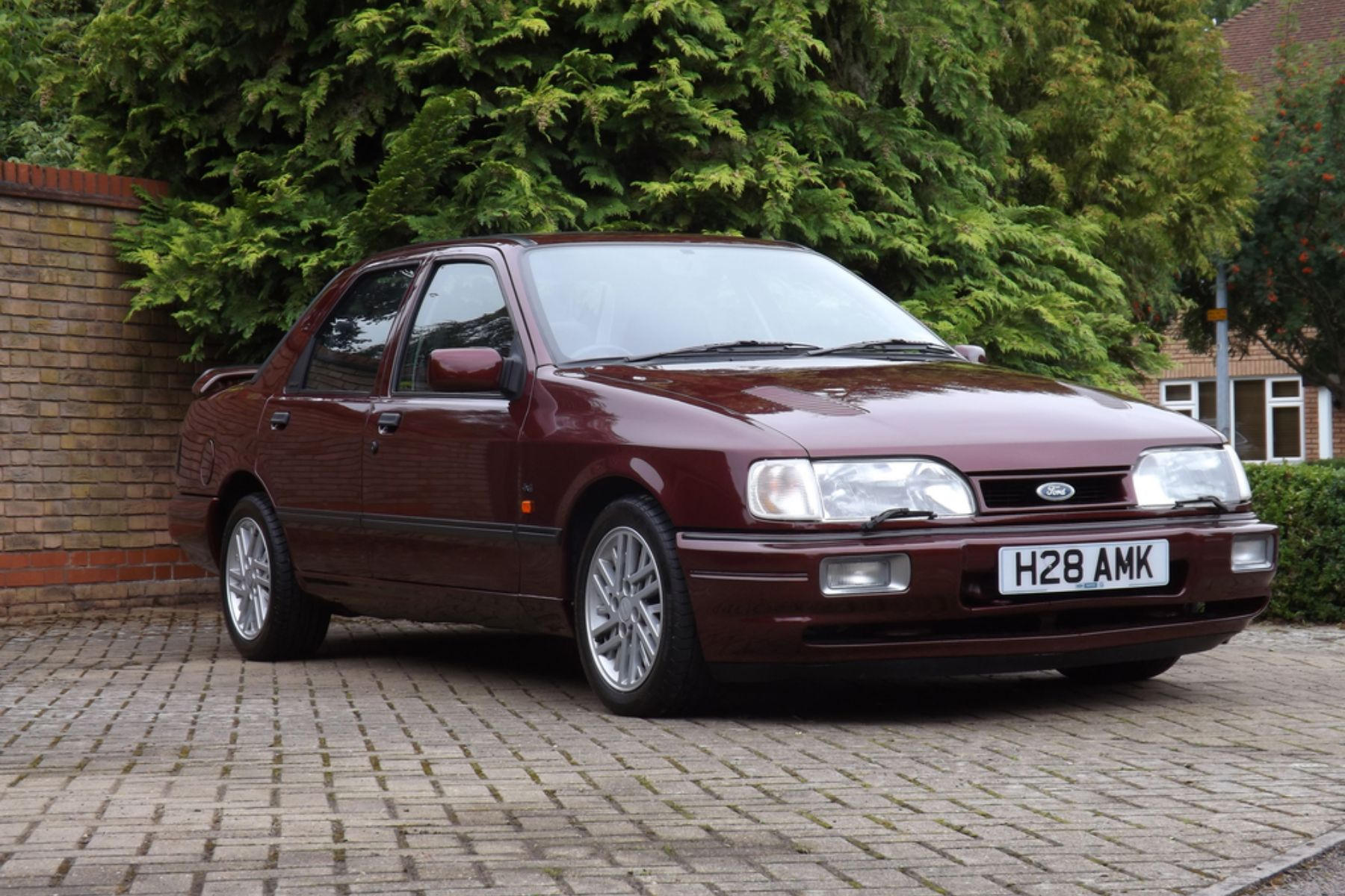 Fast ford frenzy as sapphire cosworth sells for record price