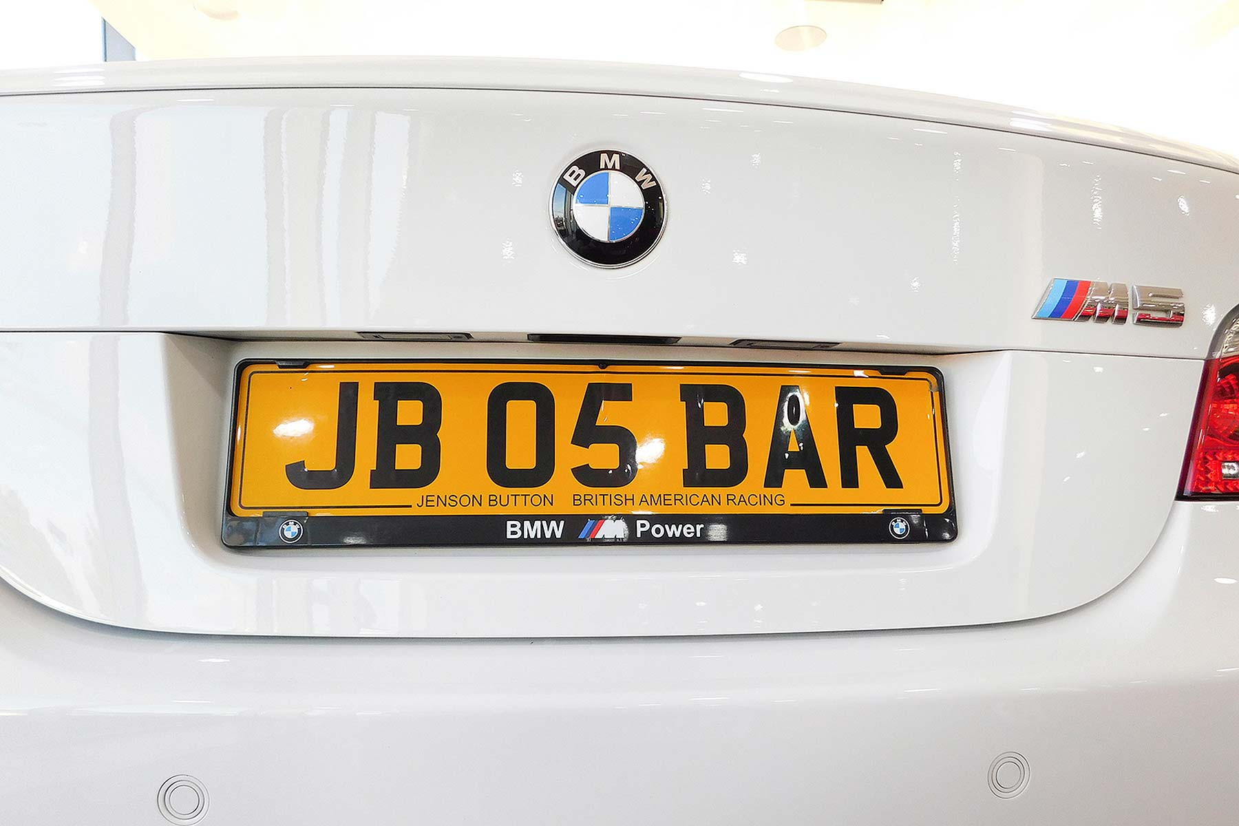 Jenson Button's old 2005 BMW M5