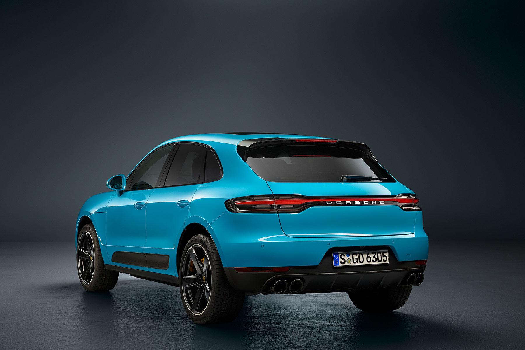2019 Porsche Macan Facelift Paris Motor Show