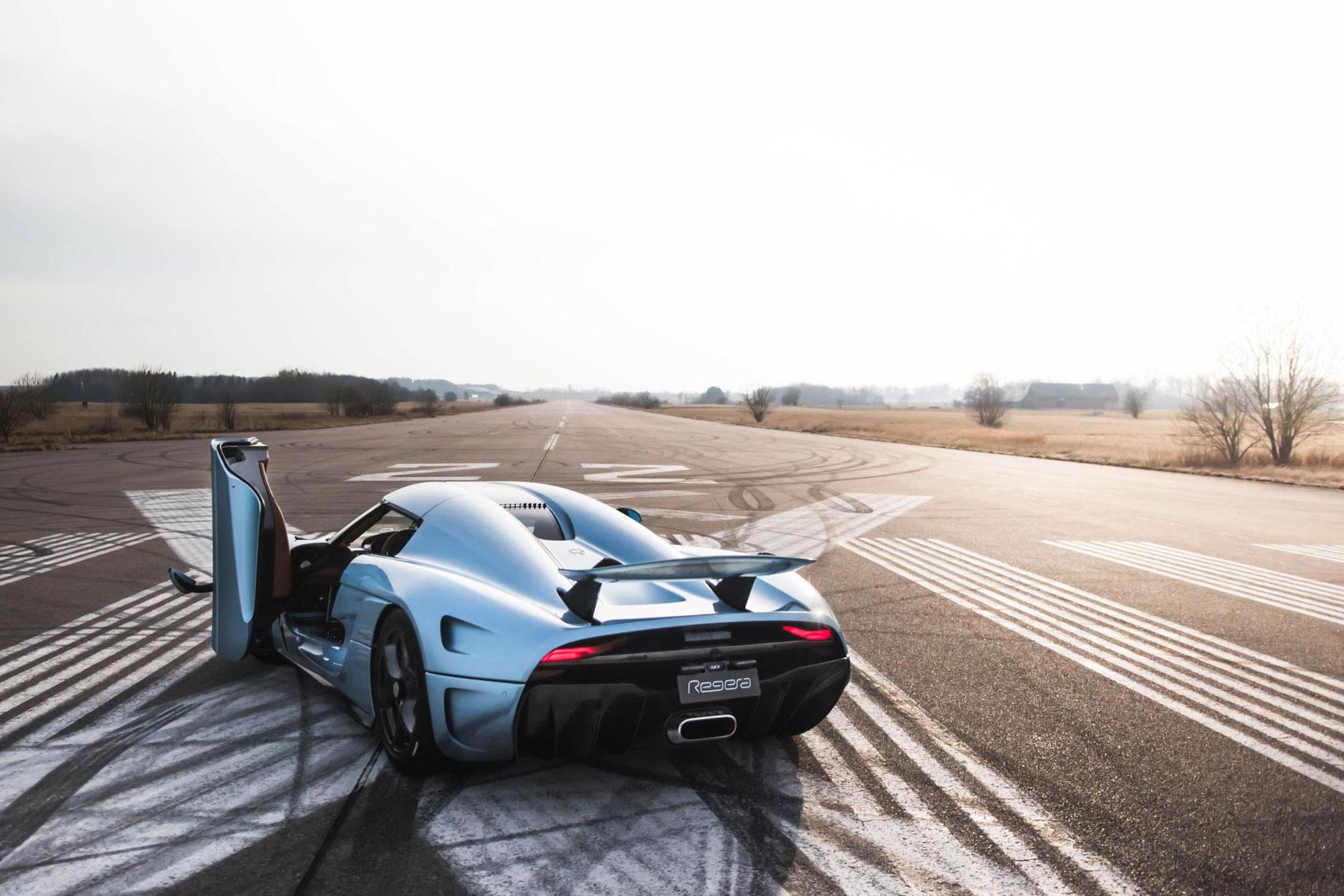 Koenigsegg Regera – 2.8 seconds