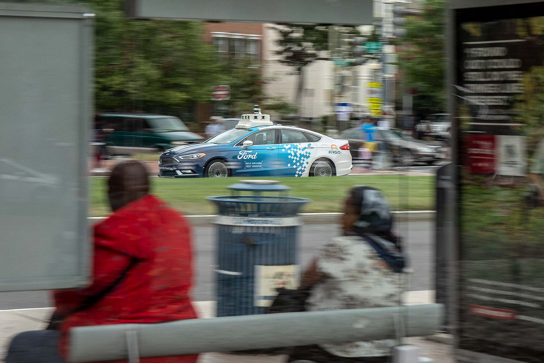 Ford autonomous vehicle tests in Washington, D.C.