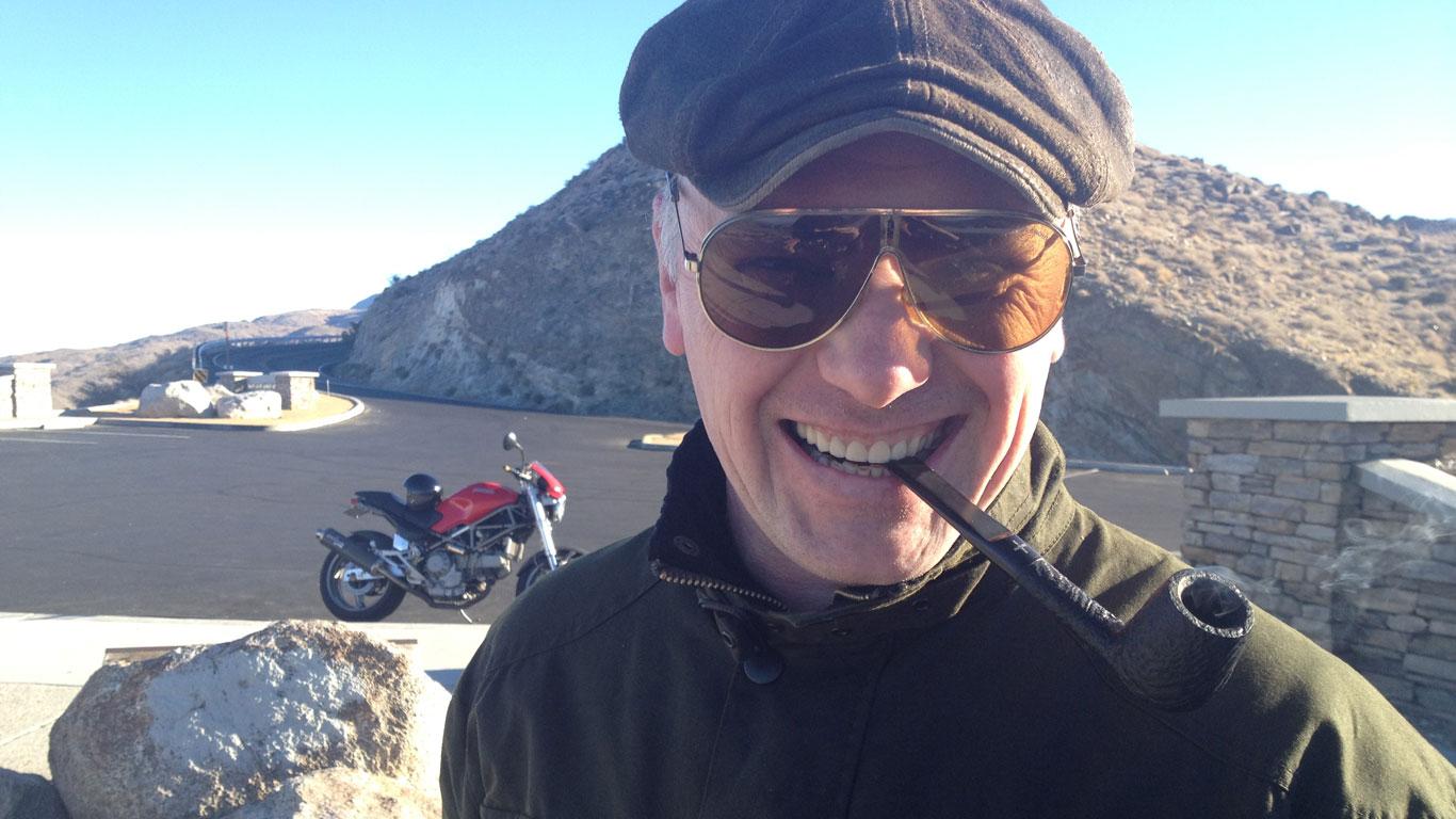 Top Gear presenter Steve Berry