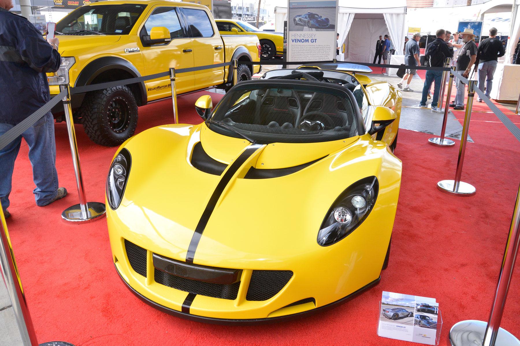 Hennessey Venom GT – 2.7 seconds (0-60mph)
