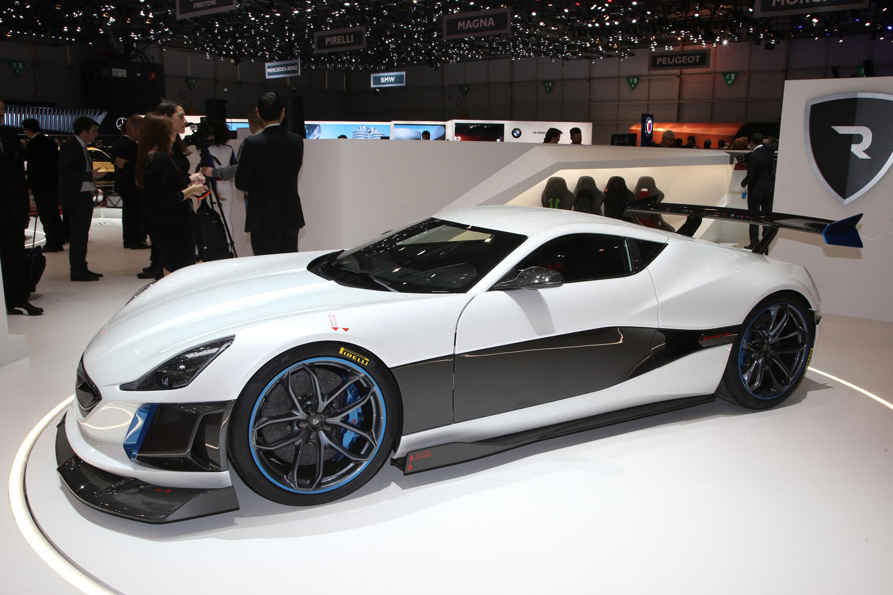 Rimac Concept One – 2.5 seconds