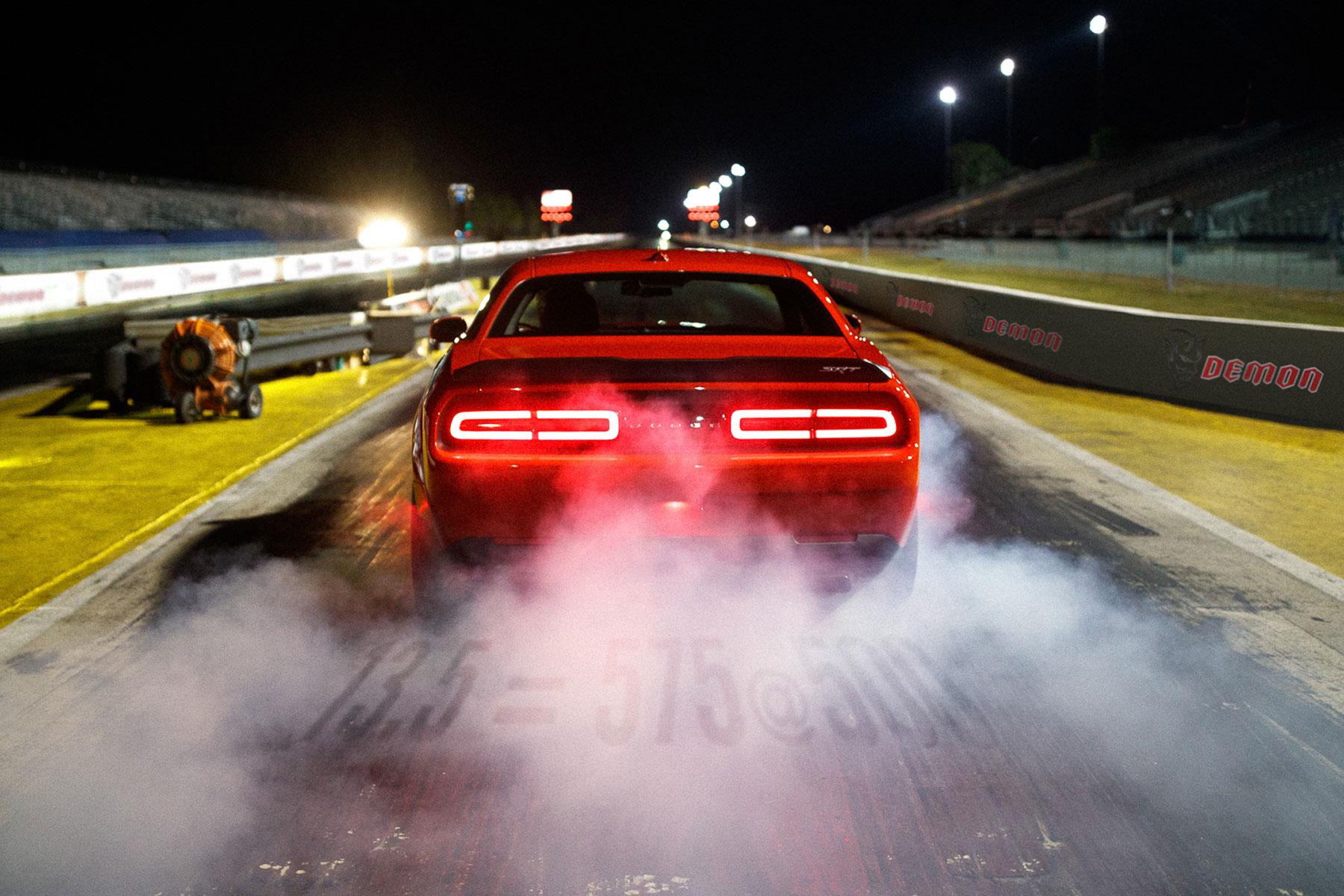 Dodge Challenger SRT Demon – 2.3 seconds (0-60mph)