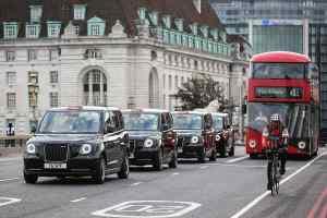 London electric black cab