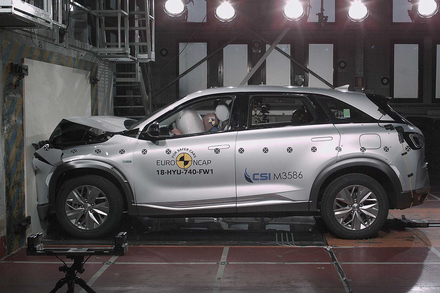Hyundai Nexo Euro NCAP crash test