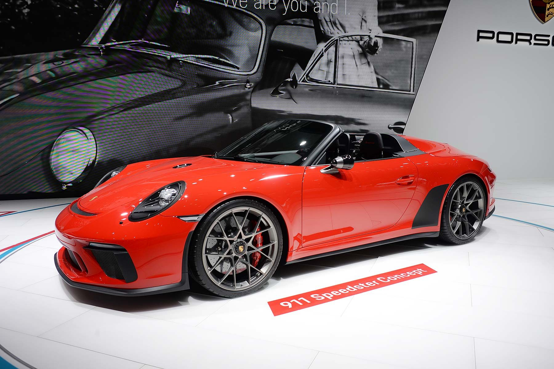 New Limited Edition Porsche 911 Speedster Debuts In Paris