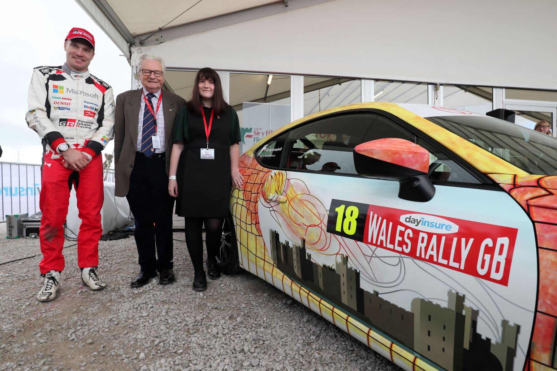 Design a rally car livery winner Kirsty Campbell 6