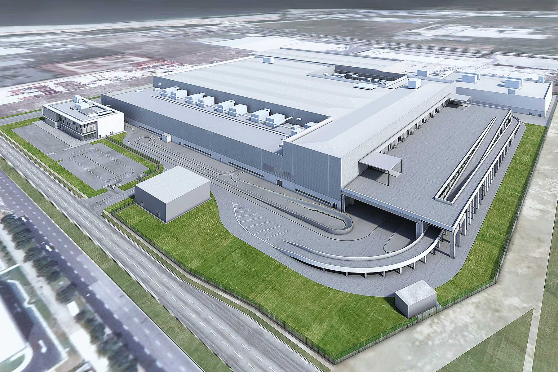 Dyson Automotive Manufacturing facility
