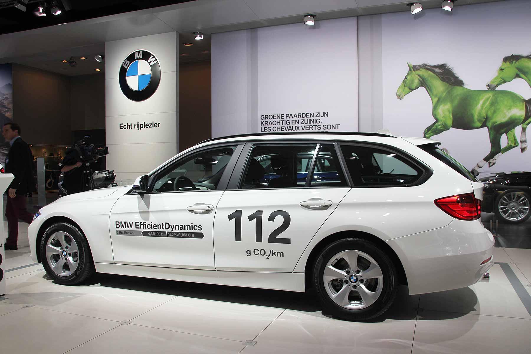 BMW 320d company car