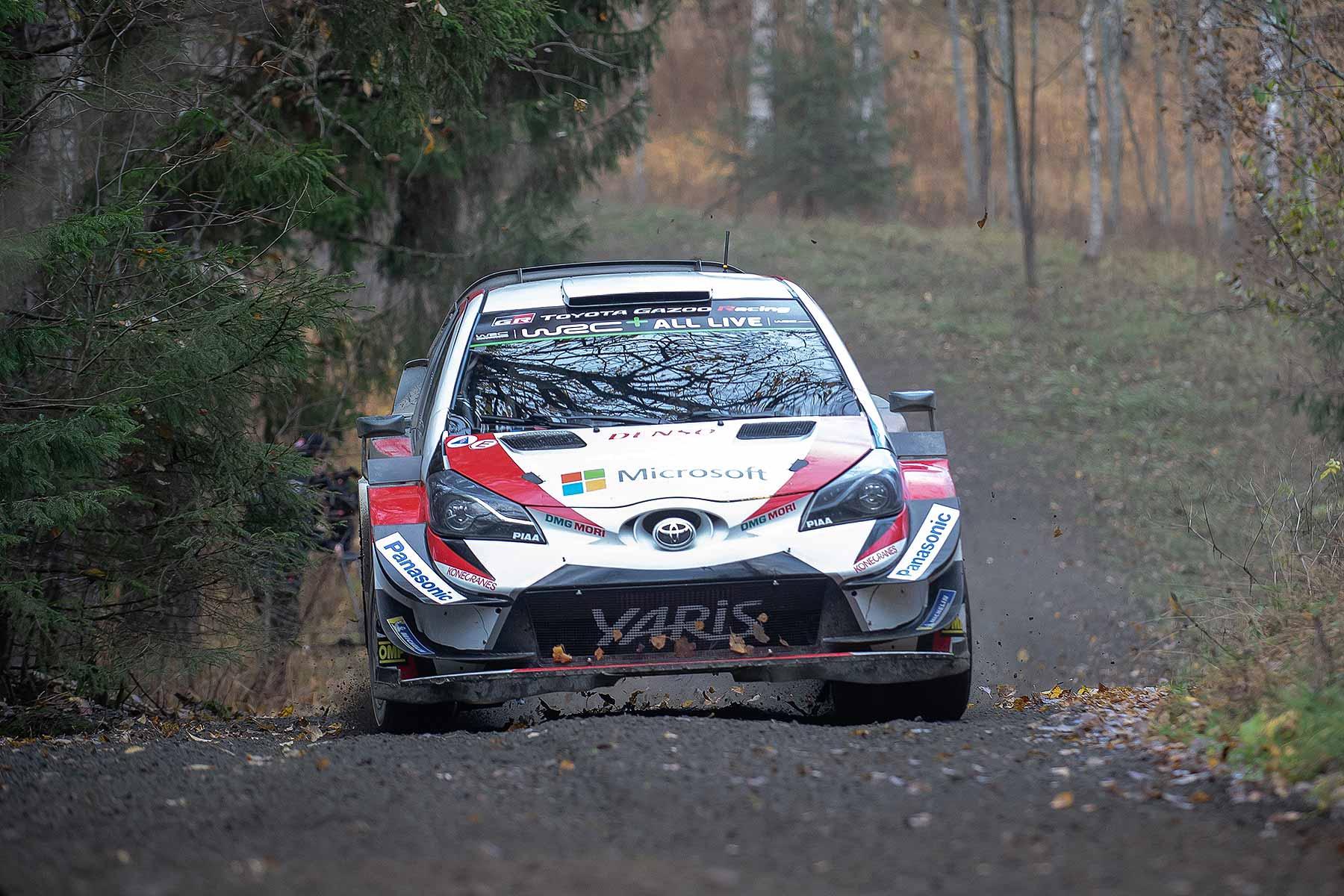 Kris Meeke and Toyota WRC