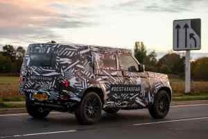 New 2020 Land Rover Defender Spied In Testing