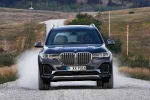 2019 BMW X7 luxury SUV