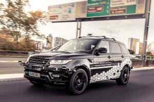 Autonomous Range Rover Sport in Coventry