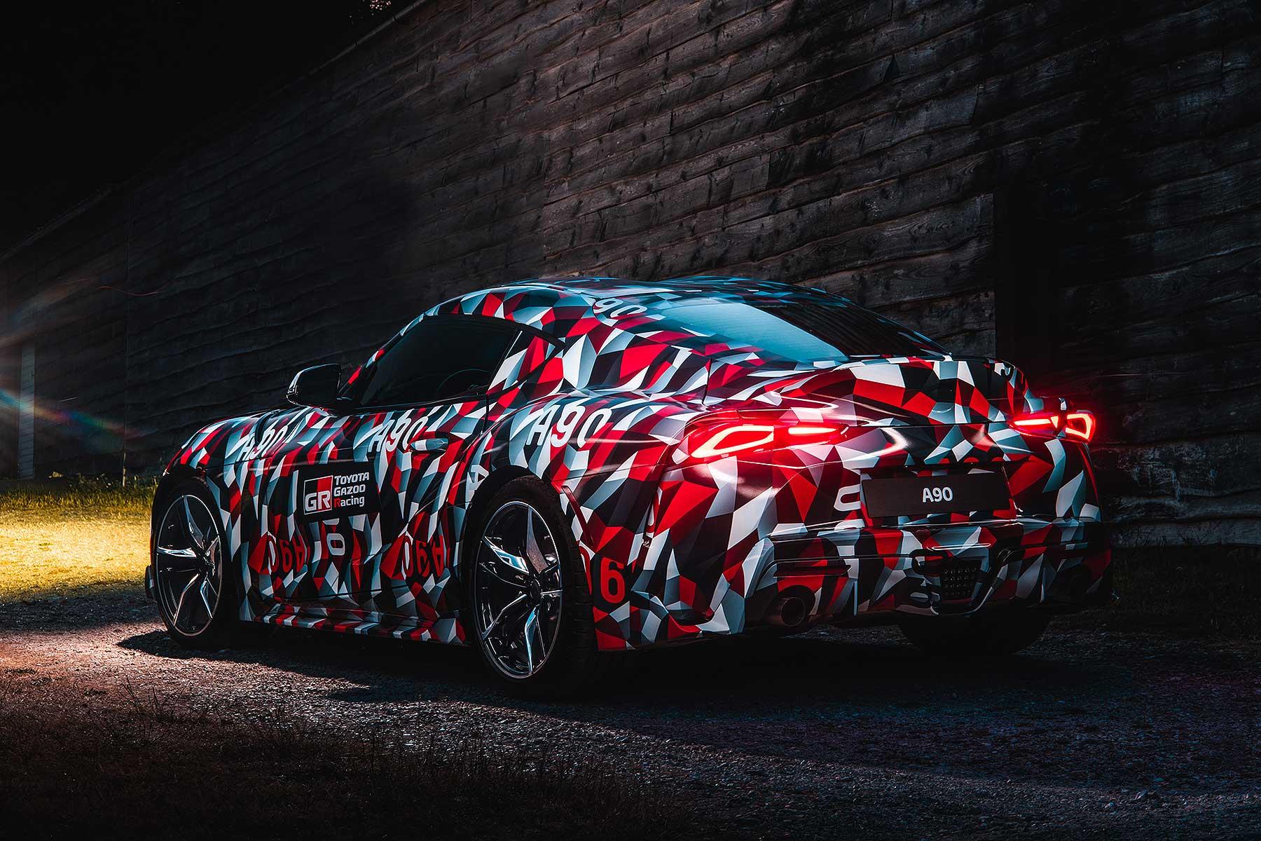 2019 Toyota Supra A90 tease