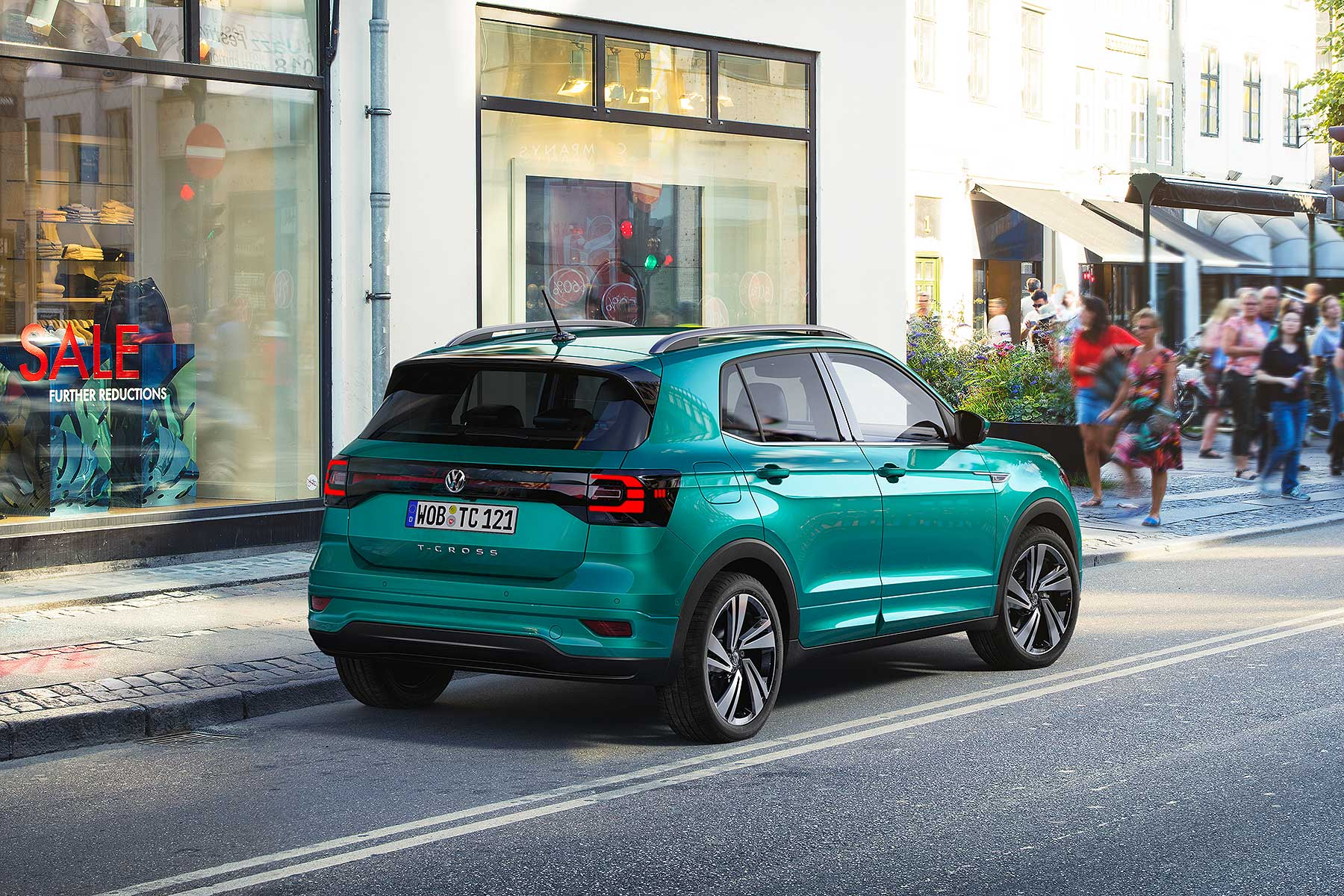 New Volkswagen T Cross Is A Baby Suv With Big Ambitions Motoring