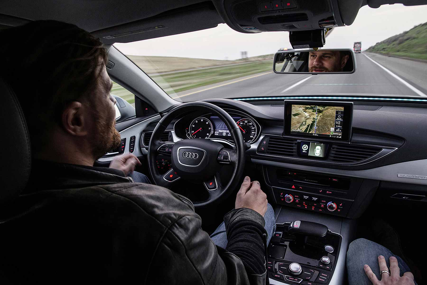 Audi Piloted Driving autonomous car